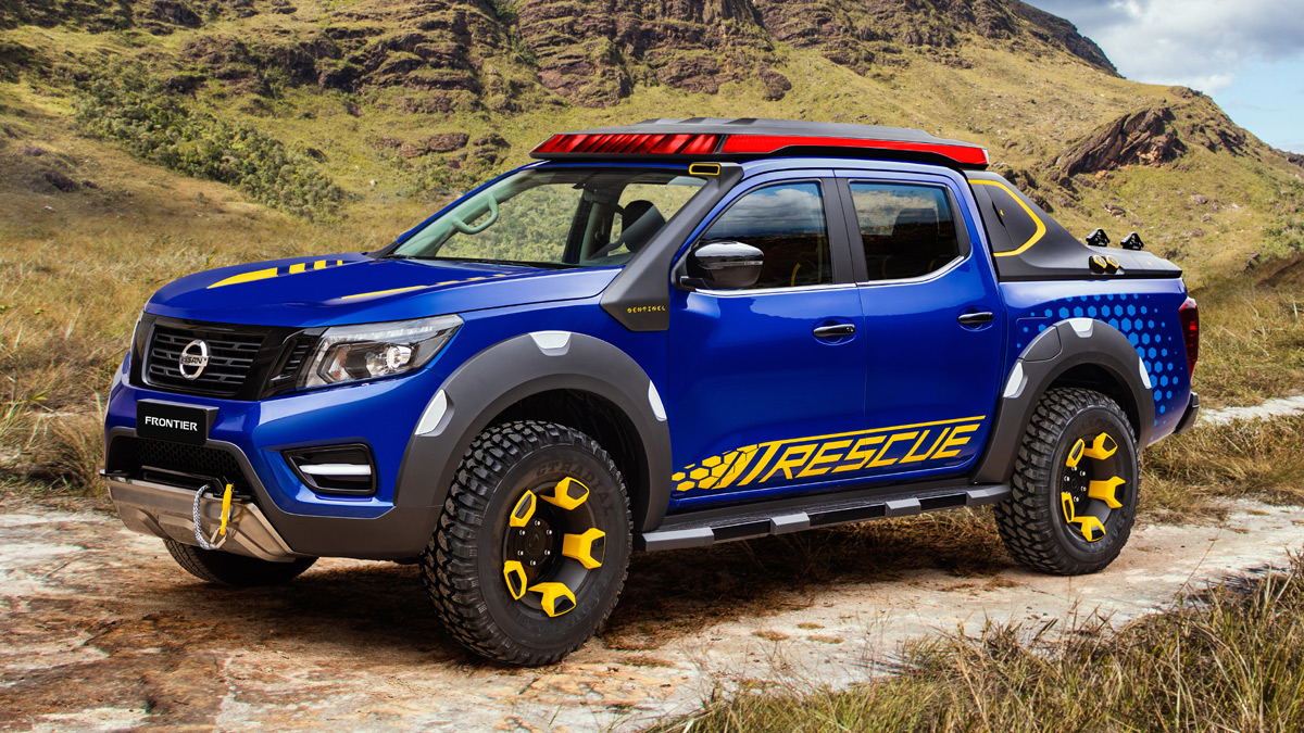 Pickup Top Gear Philippines Old Nissan Trucks For Sale A Rescue Oriented Navara Concept Has Surfaced