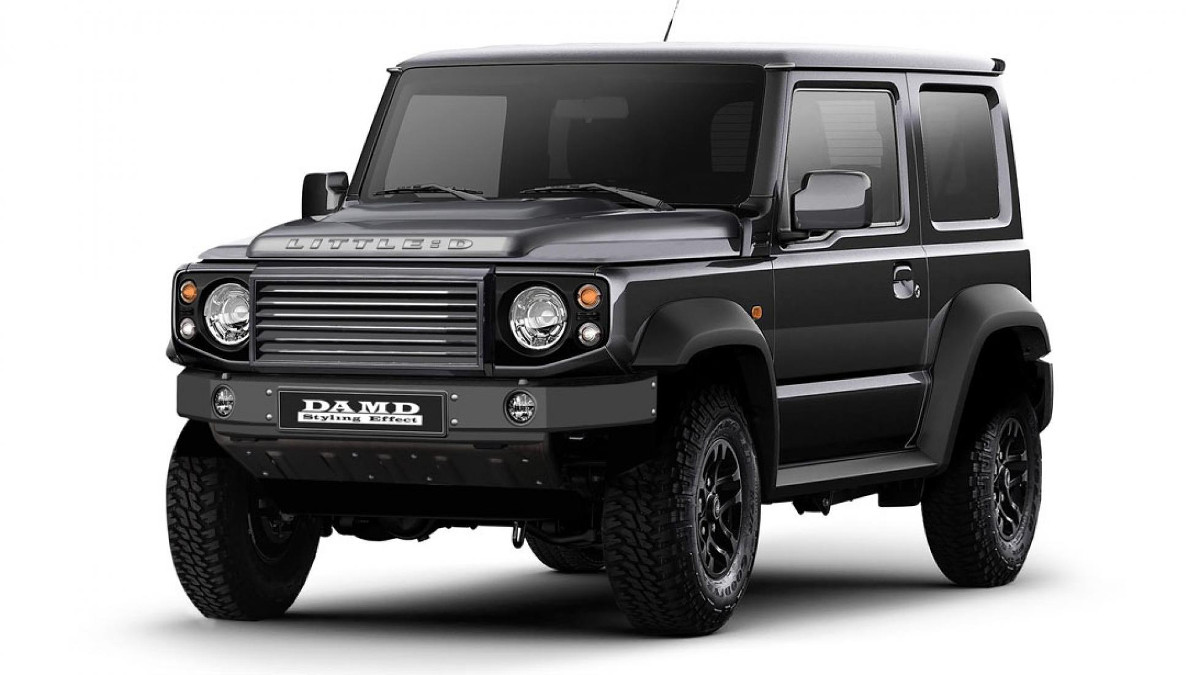 Dress up your Suzuki Jimny as a baby G-Class or Defender