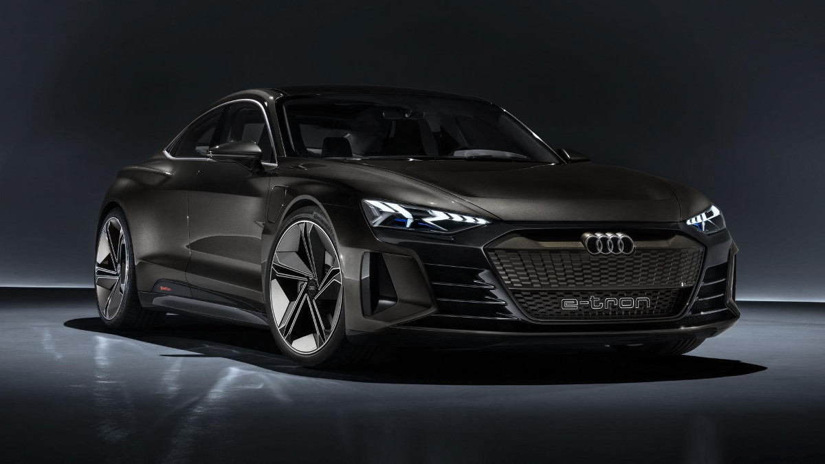 the e tron gt is audi s latest fully electric concept. Black Bedroom Furniture Sets. Home Design Ideas