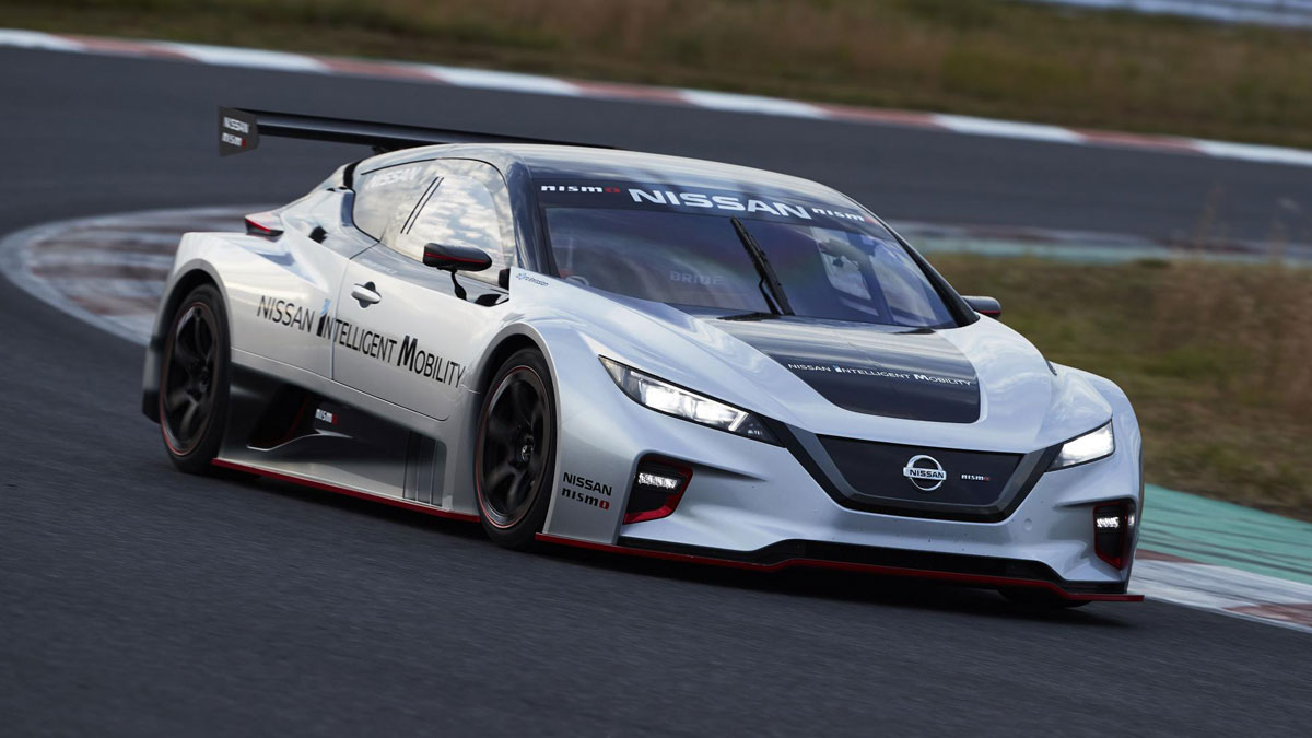 Nissan promises more thrills from latest Leaf Nismo RC electric race auto