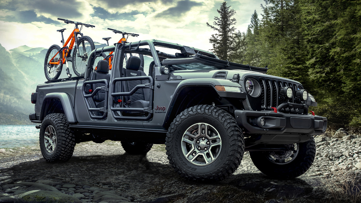 The Jeep Gladiator is the perfect toy for the aftermarket ...
