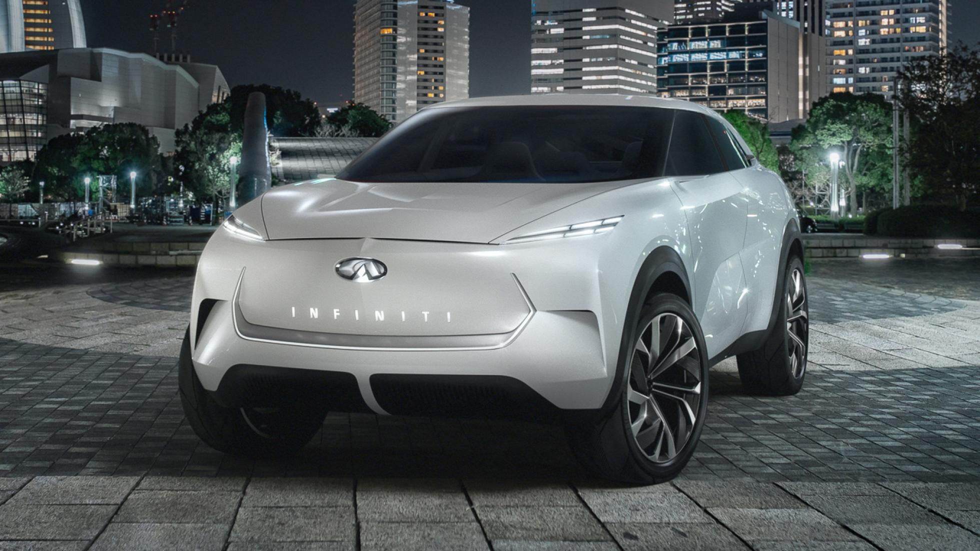 Infiniti QX Inspiration Concept Previews Stunning Electric SUV