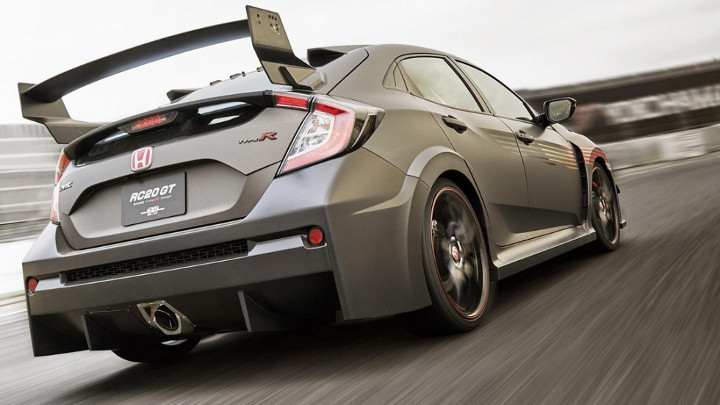 The Mugen Rc20gt Is A Civic Type R With An Aggressive Bodykit