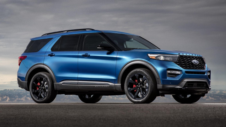 the new ford explorer st makes 400hp. Black Bedroom Furniture Sets. Home Design Ideas