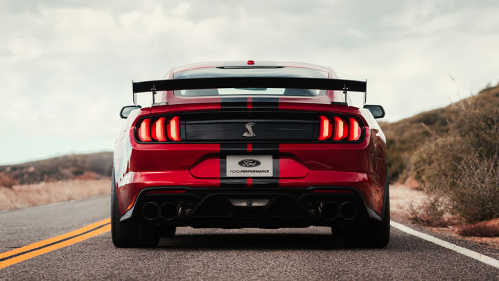Ford Shelby Mustang GT500 is the most powerful Mustang made