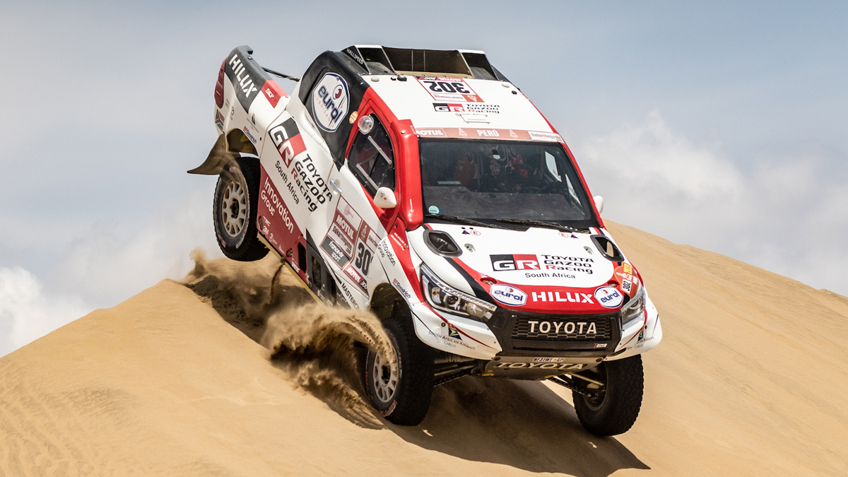 toyota gazoo racing hilux wins 2019 dakar rally. Black Bedroom Furniture Sets. Home Design Ideas