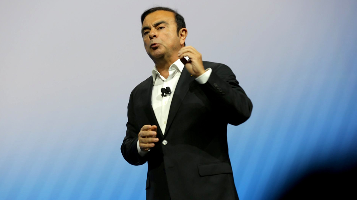 Carlos Ghosn Offers to Wear Ankle Tag in Return for Bail