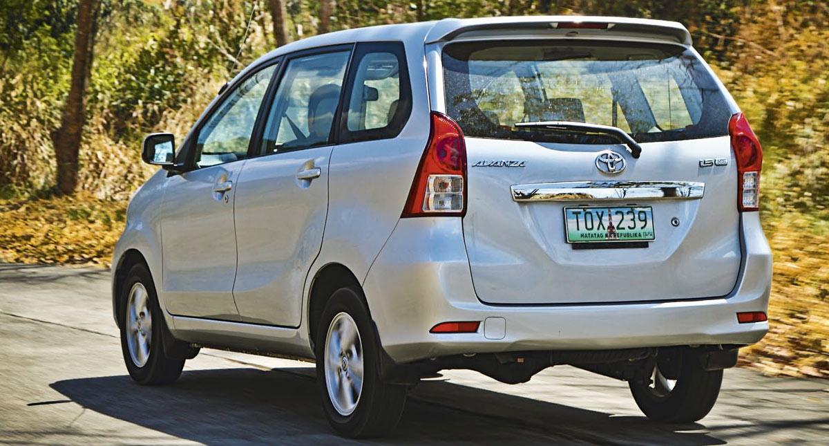 Toyota Avanza Specs