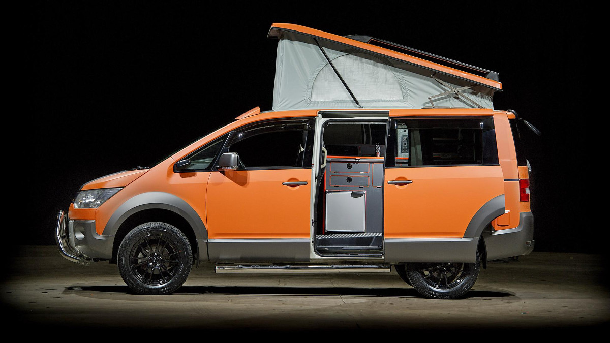 ad88754928 Enjoy the outdoors with the Mitsubishi D 5 Terrain campervan