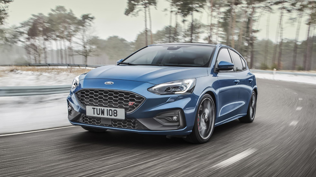 The latest ford focus sts gasoline version makes 420nm of torque