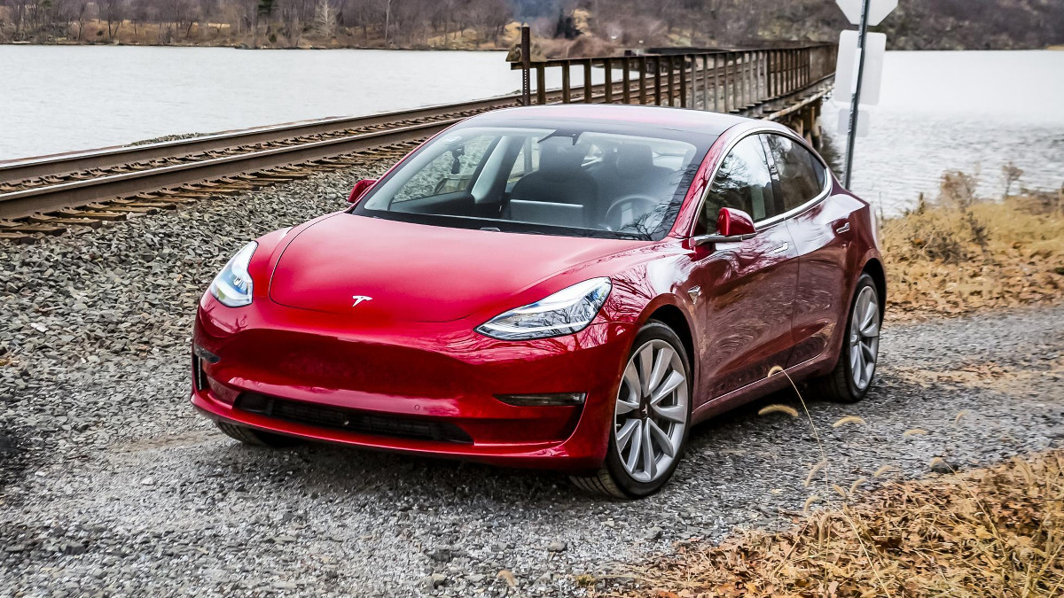 The base Tesla Model 3 is now available for order in the US