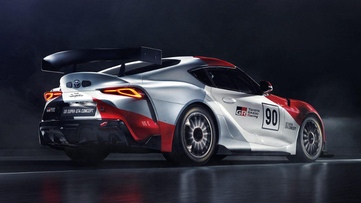 Toyota Supra GT4 Concept races into our hearts in Geneva