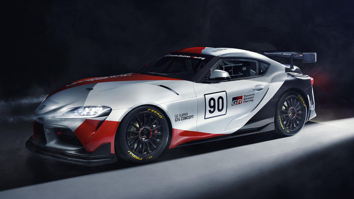 Toyota GR Supra GT4 Concept headed to Geneva
