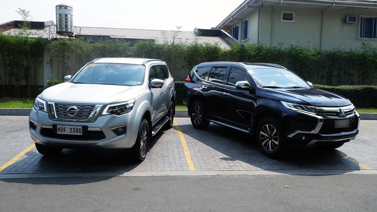 2019 Mitsubishi Montero Sport, Nissan Terra: Comparison ...