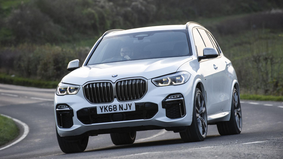 2ce3faee8c09 First drive  The BMW X5 M50d is all about power