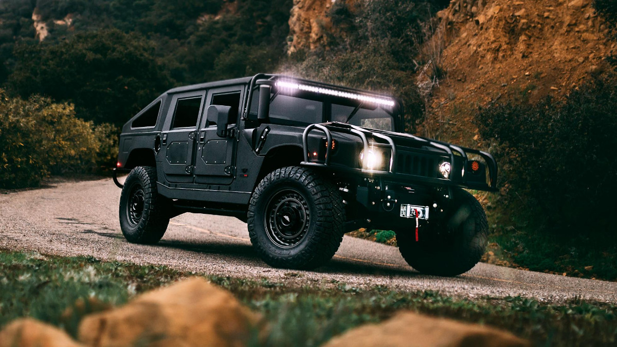 The Hummer H1 by Mil-Spec Automotive is something John Wick would use