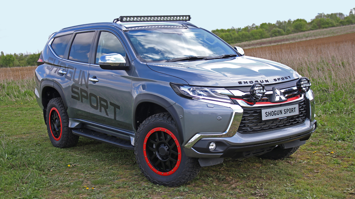 2019 Mitsubishi Outlander Shogun Sport Svp Concept Specs