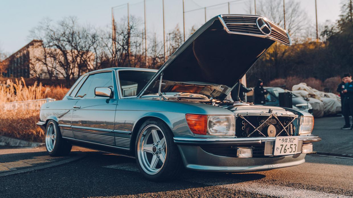 A Classic Mercedes Benz 450 Slc Gets The Mkiv Supras 2jz Engine