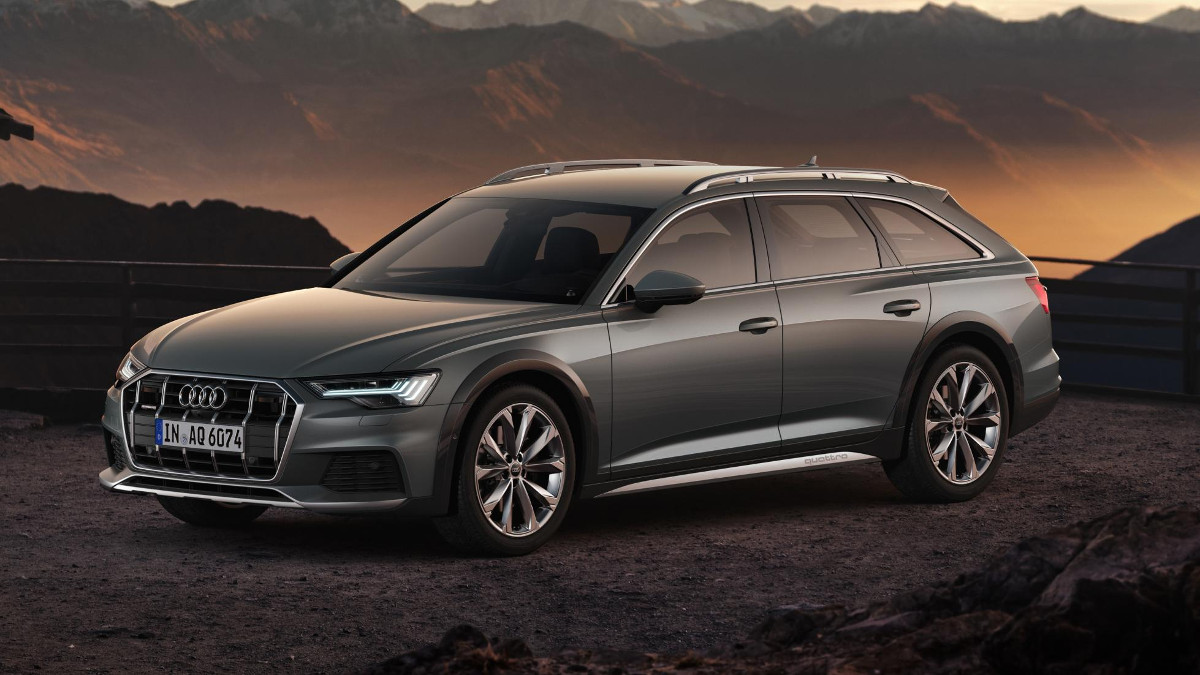 new audi a6 allroad comes standard with adaptive air. Black Bedroom Furniture Sets. Home Design Ideas