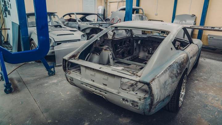 Datsun 240z Restomod From Mzr Roadsports