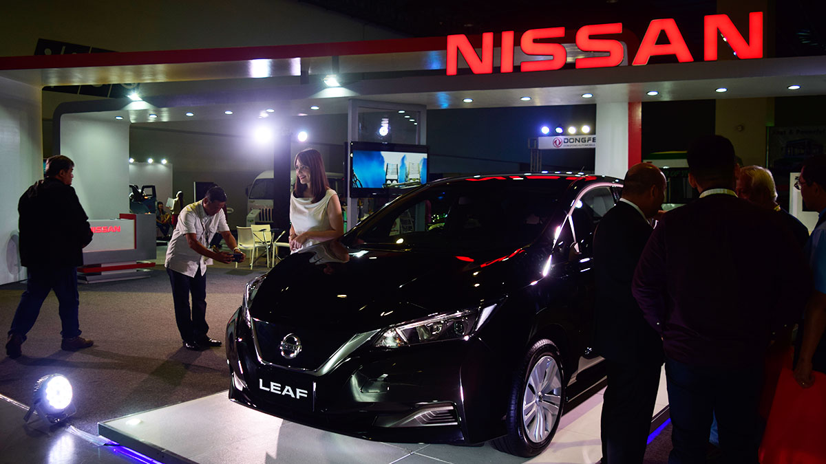 Nissan believes the Philippines is ready for the arrival of EVs