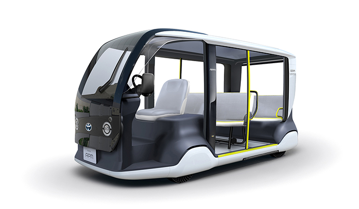 toyota's mobility vehicle for tokyo 2020 olympics
