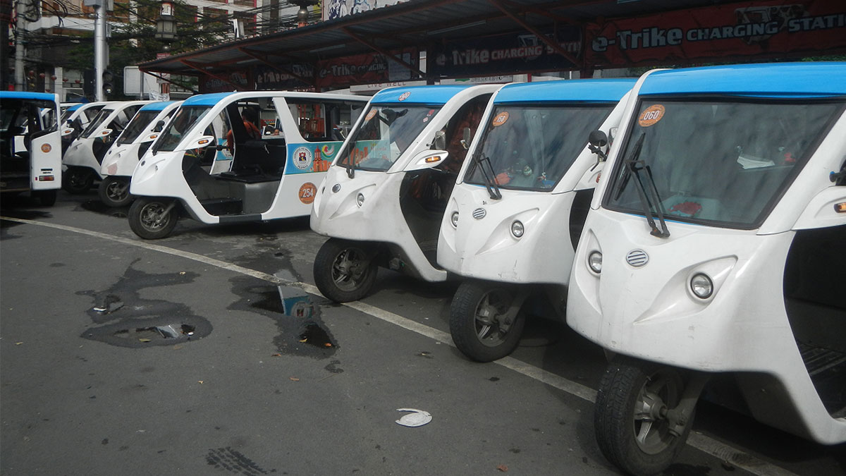 Electric Tricycle | Top Gear Philippines