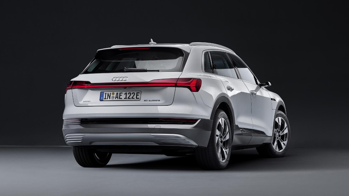 Audi makes its e-tron electric SUV a little more affordable