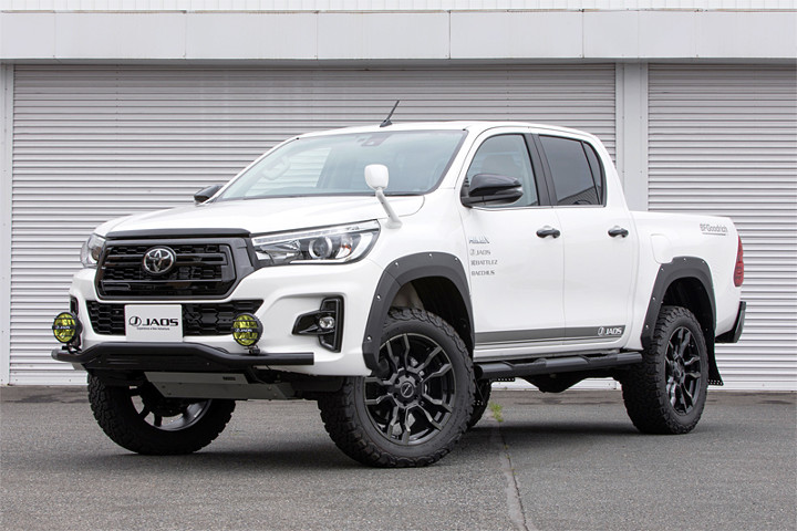 The Toyota Hilux 125 Series is an off-road machine by JAOS