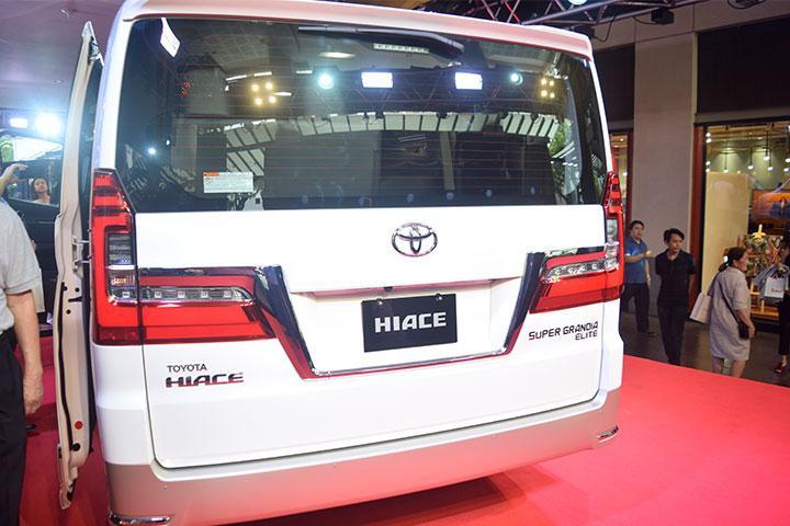 2020 Toyota Hiace Super Grandia Specs Prices Photo
