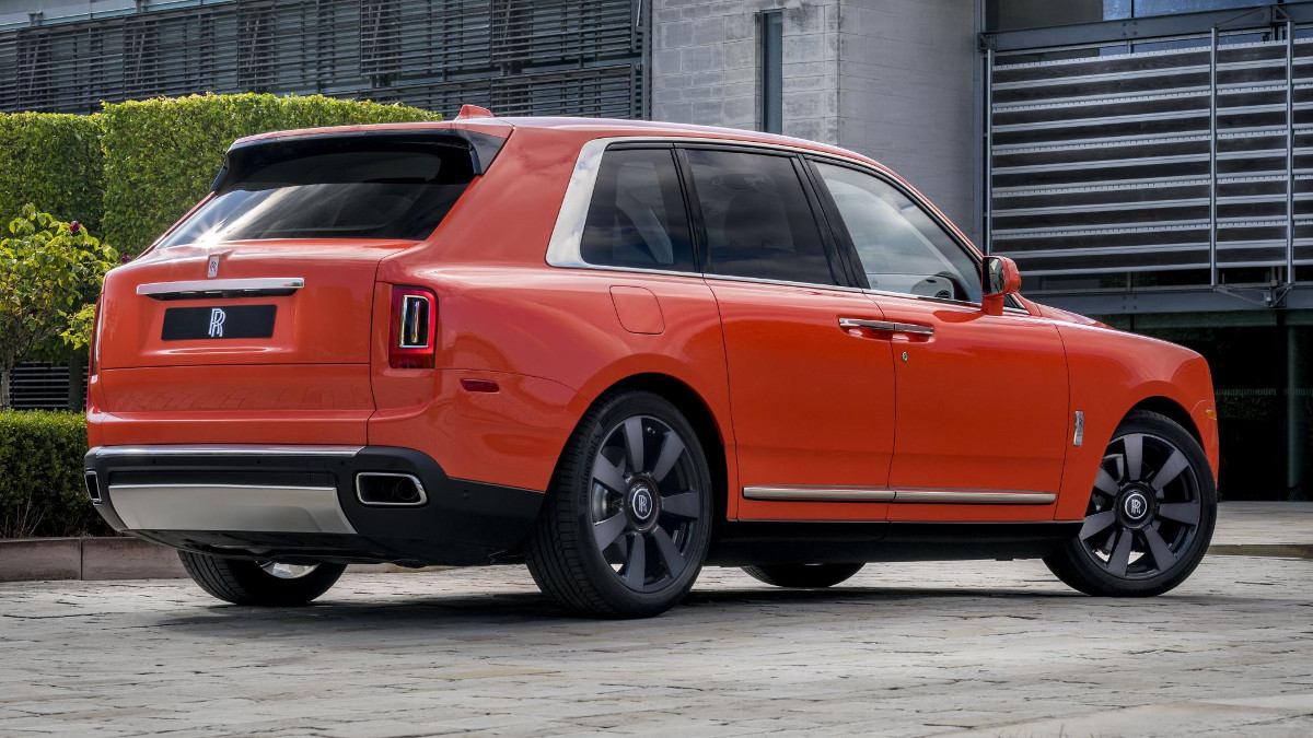 Rolls Royce Creates Bespoke Cullinan For Collector Michael Fux