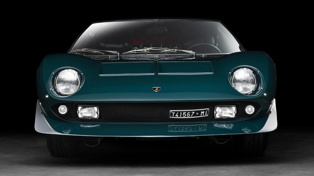 This one-off Lamborghini Miura is truly unique