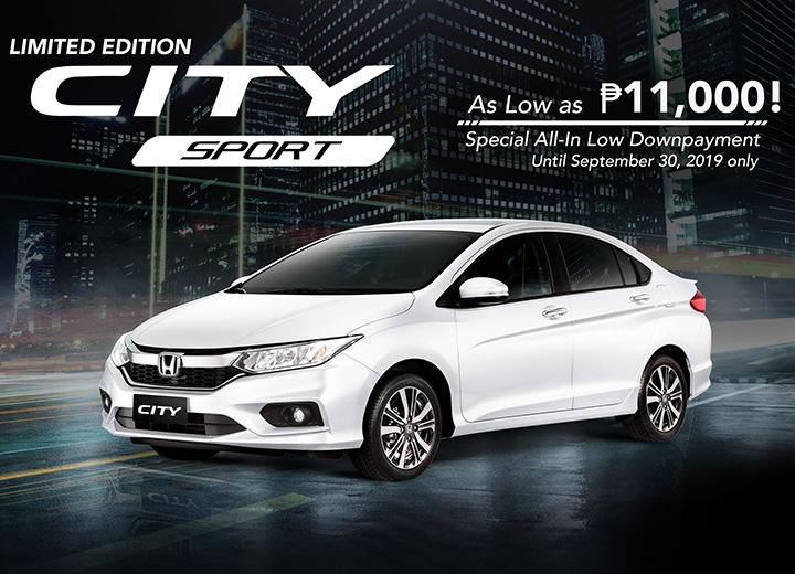 2020 Honda City Sport Price Specs Features Promo