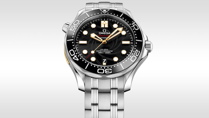This limited-edition Omega Seamaster is a tribute to James Bond