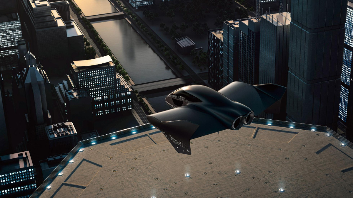 Porsche has teamed up with Boeing to build a flying car