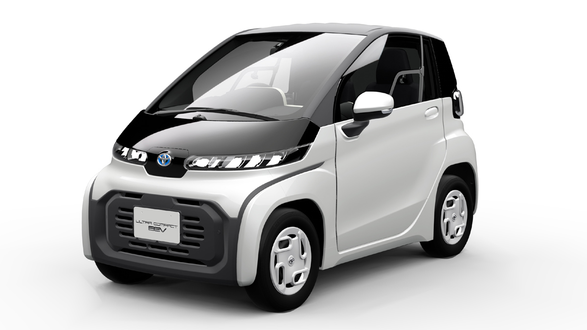 Toyota production-ready low-speed EV for Tokyo debut