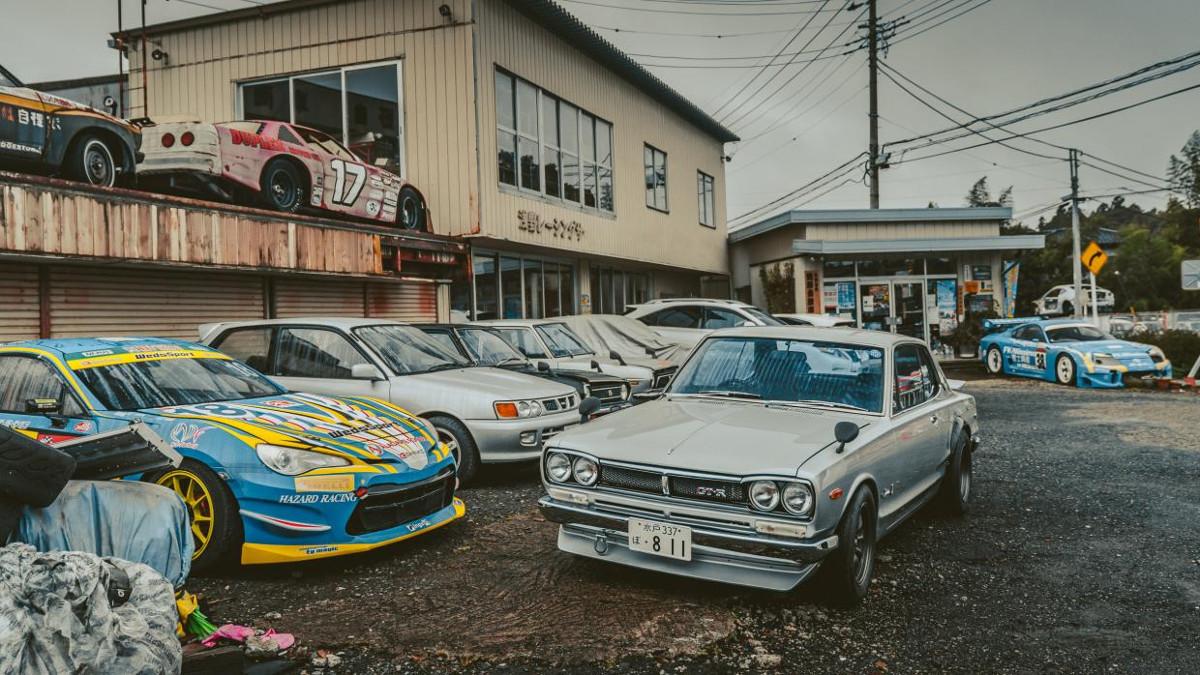 Gallery Car Graveyard In Japan