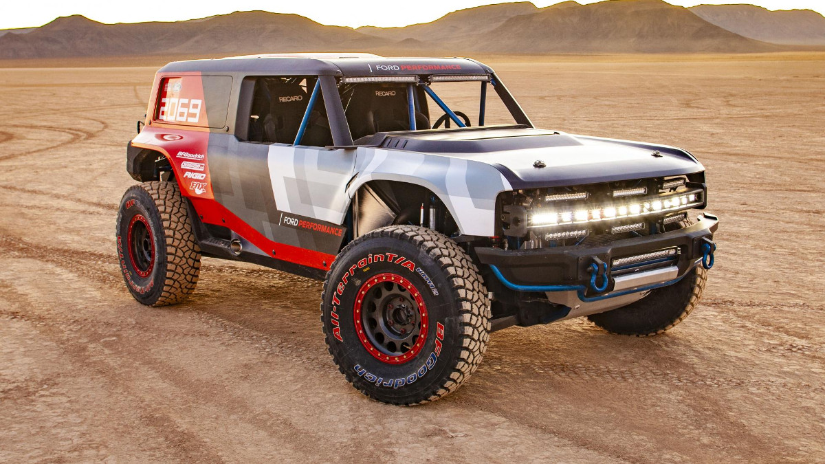 Ford Bronco R For Baja 1000 Previews 2020 Bronco Model