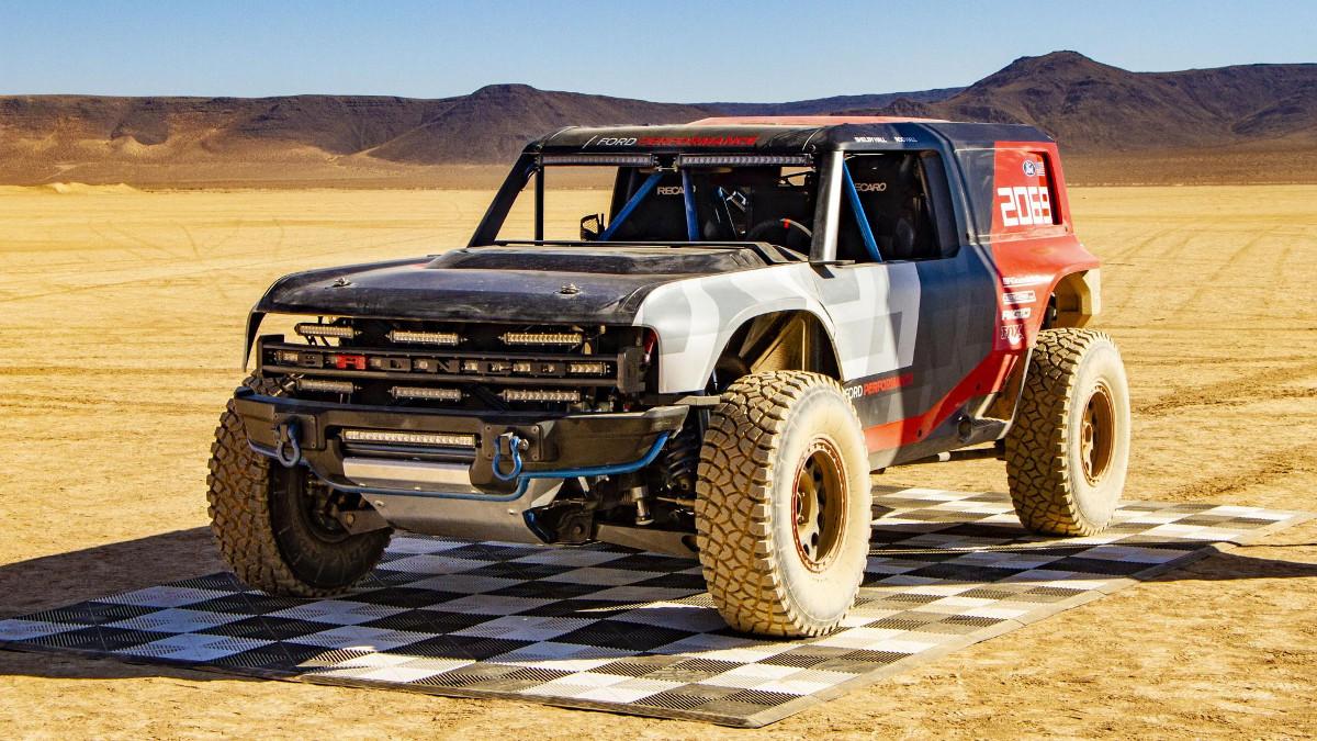 Ford Bronco R For Baja 1000 Previews 2020 Bronco Model