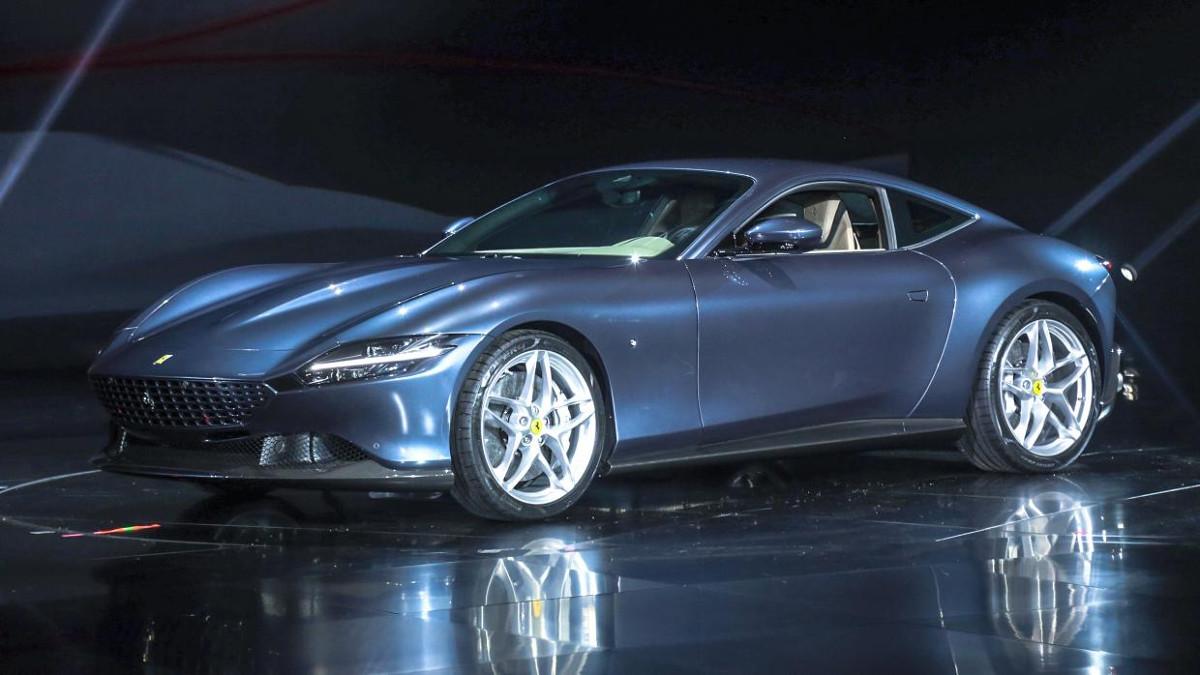 2019 Ferrari Roma Specs Photos Features