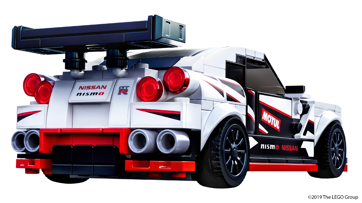 Nissan GT-R Finally Gets Official LEGO Set For Its 50th Anniversary