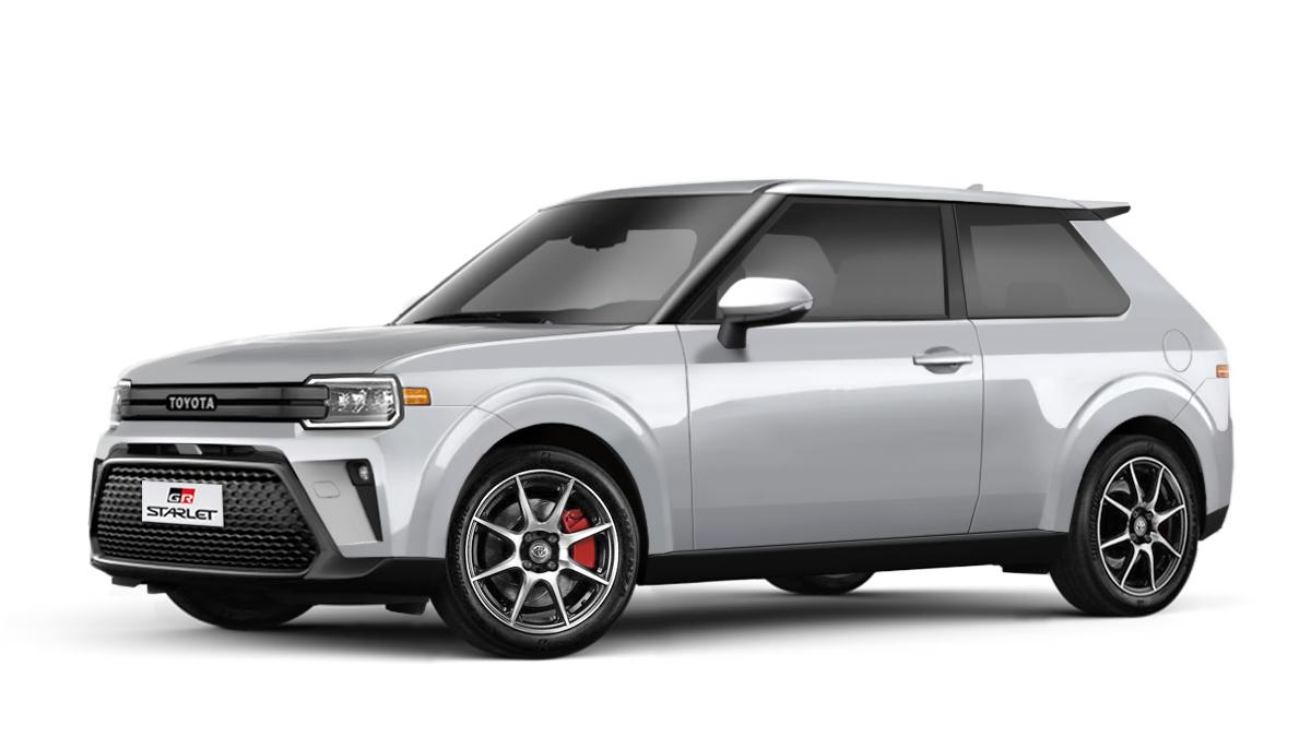 Modern Toyota Starlet
