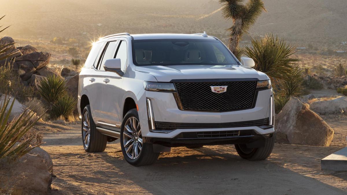 2020 Cadillac Escalade Luxury Suv Ratings