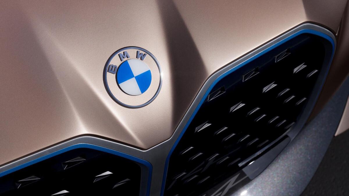 BMW  Concept I4's emblem