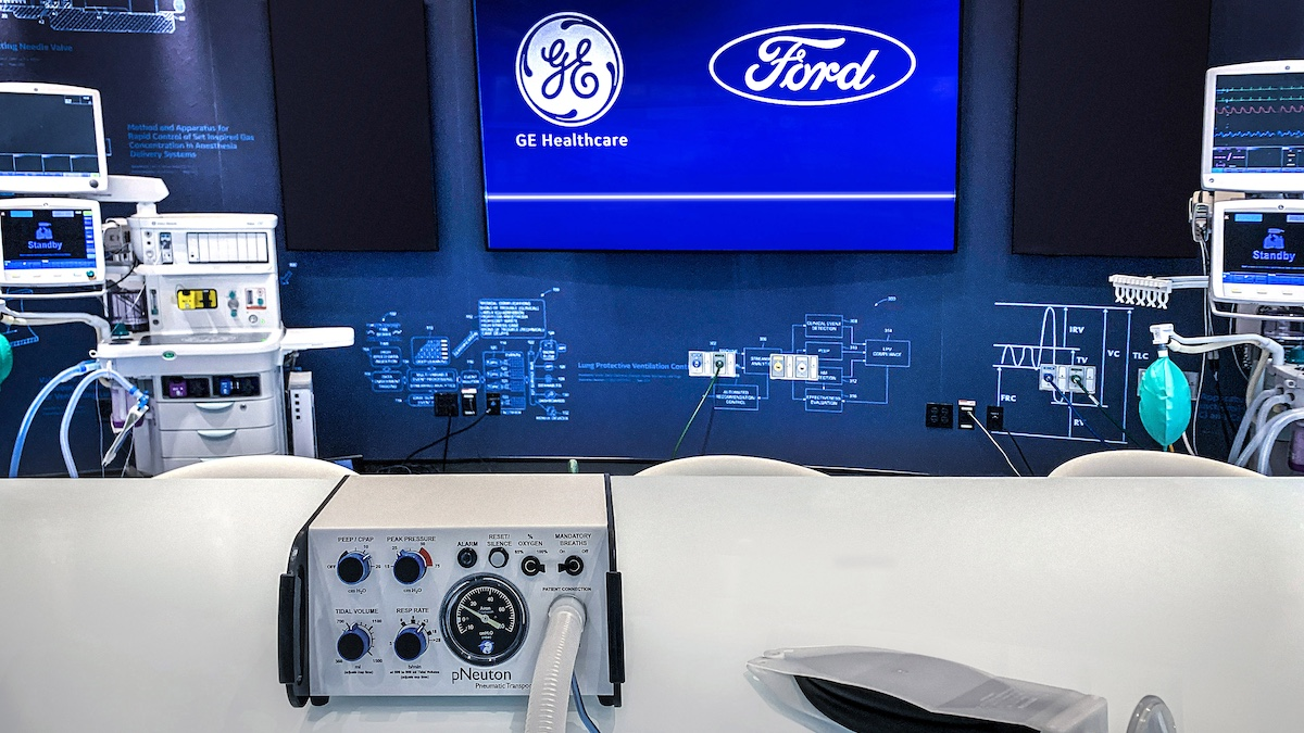 Ford to produce 50,000 ventilators in 100 days with GE