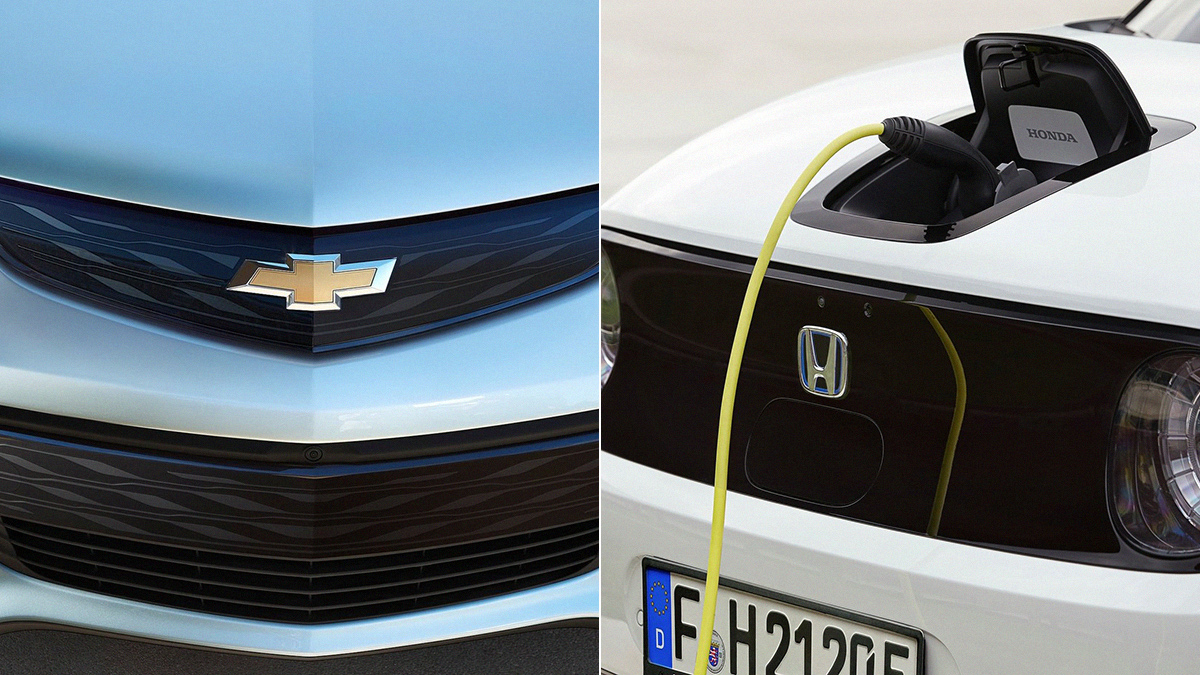 GM And Honda Partner Up To Make New Electric Vehicles — GM