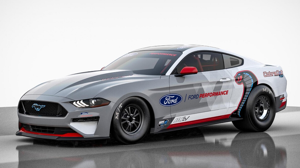 Ford Mustang Cobra Jet is 1400bhp electric drag racer