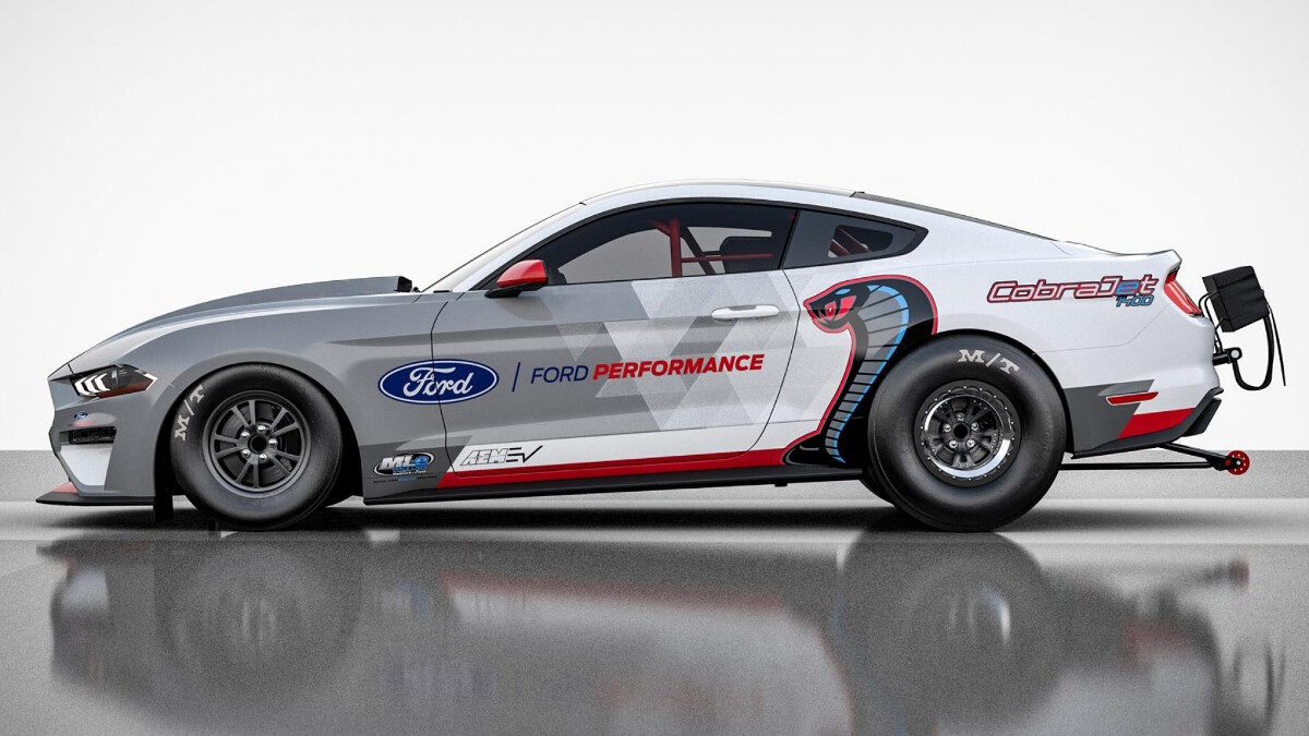 Ford Mustang Cobra Jet 1400 - 1,400 PS, 1,500 Nm dragster