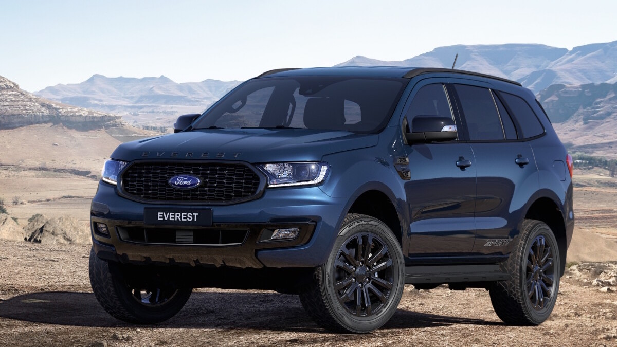 2020 Ford Everest Release