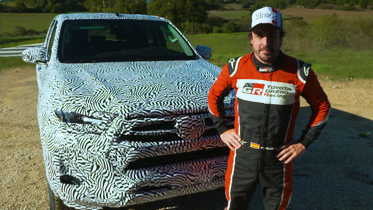 Updated pick-up tested by Fernando Alonso — Toyota Hilux